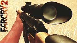 Far Cry 2 Gameplay Sniper Weapon and Explosion Kills
