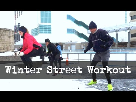 Extreme Urban Workouts - Winter Street Training