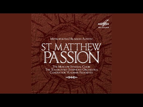 St. Matthew Passion, The Last Supper: The Council, Judas's Betrayal