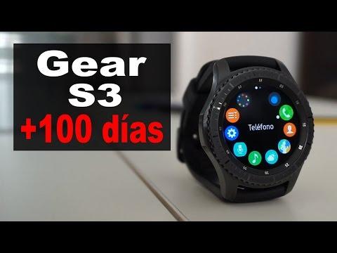 +100 días con el Samsung Gear S3 | review en español complementaria