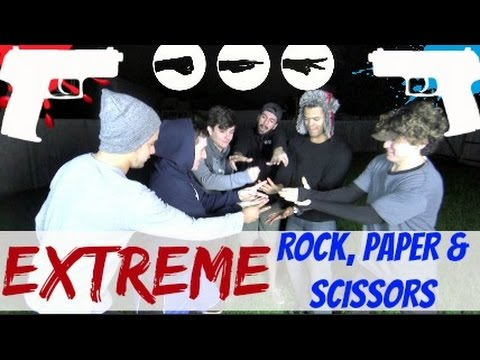 EXTREME ROCK, PAPER, SCISSORS! w/ Jc Caylen, Shane Gamboa, Nick Bean, Kenny Brown & Carlos!