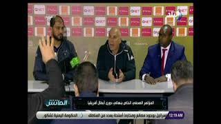 صحفى تونسى لمدرب الاهلى : المفروض تتكلم بتواضع ..ويوسف يرد : انت مش هتقولى ارد ازاى