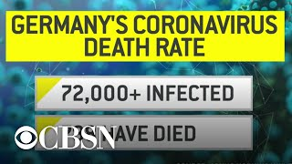 Germany's low coronavirus death rate