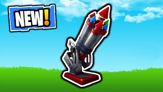 FORTNITE NEW BOTTLE ROCKETS GAMEPLAY! NEW BOTTLE ROCKETS ITEM! FORTNITE NEW V7.30 CONTENT UPDATE