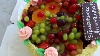 видео детский торт на заказ