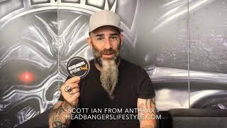 Scott Ian from Anthrax likes HeadBangers LifeStyle