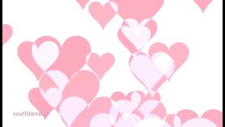 結婚式ビデオに ハートの背景 映像cg素材 動画素材