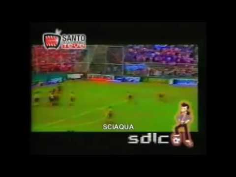 Gol de Sciaqua a Atletico (Atlético 0 San Martín 1) - B Nac. 19971998