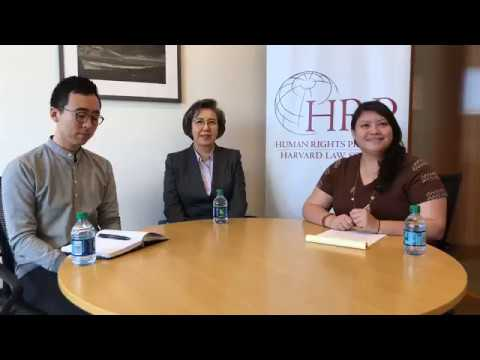 Conversation with Dr. Yanghee Lee, UN Special Rapporteur on the situation of human rights in Myanmar