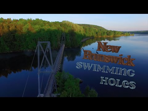 New Brunswick Swimming Holes ( Drone Video )