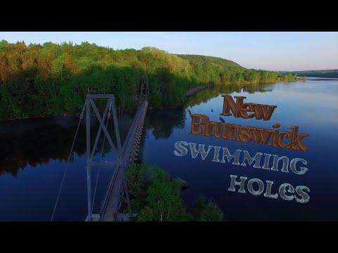 New Brunswick Swimming Holes 🇨🇦👌 ( Drone Video )