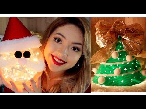 Manualidades para navidad f ciles y econ micas reciclan doovi - Decoraciones de navidad manualidades ...