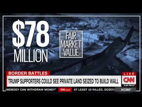 Trump Voters Upset The Border Wall Will Put Them In Mexico