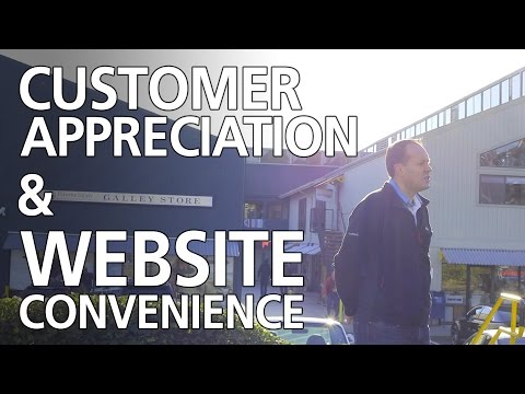 Fisheries Supply - Customer Appreciation & Website Convenience