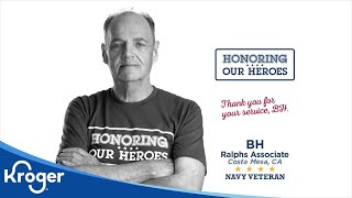 Honoring our Heroes Veteran BH│VIDEO │Kroger