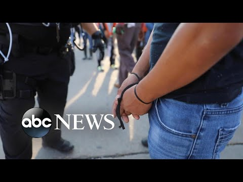 Hundreds arrested from immigration raid in Mississippi