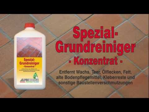 Spezial-Grundreiniger Anwendung, z.B.