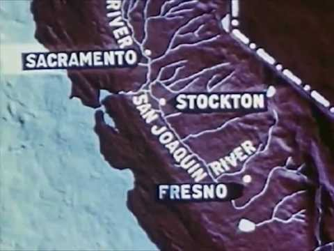 California History Video - Life In The Central Valley Of California, 1949 - CharlieDeanArchives