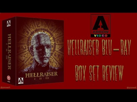 HELLRAISER Blu-ray Box Set Review - Arrow Video