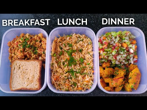 Meal Prep 1,500 calories in 25mins!! ( CUTTING DIET ) ����