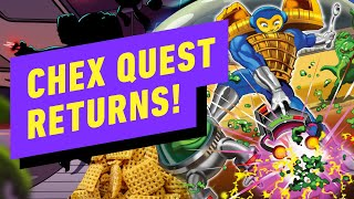 The Classic PC Game Chex Quest Is Back.. and it's Free in HD - Up At Noon