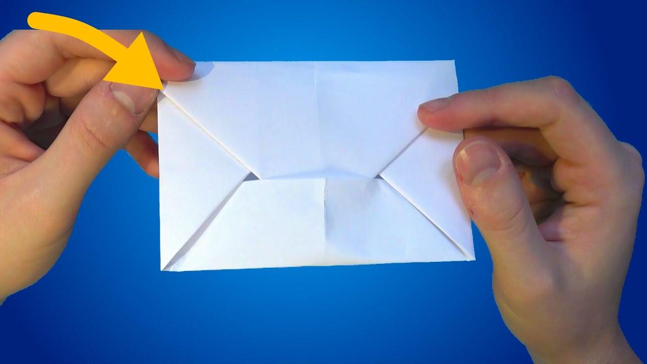 Briefumschlag Falten Din A4 Einfach Kuvert Basteln Aus Papier
