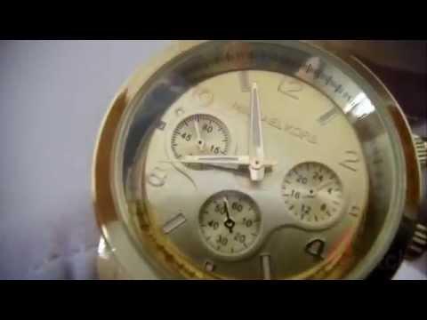 Часы наручные женские Michael Kors, золотые
