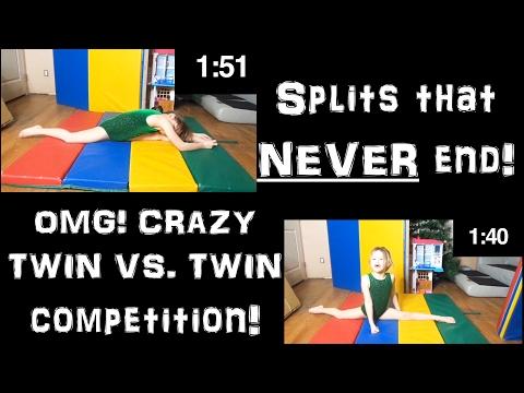 Gymnastics Split Challenge