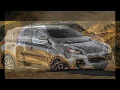 The SUV 2018 Kia Sportage SX Turbo NEw