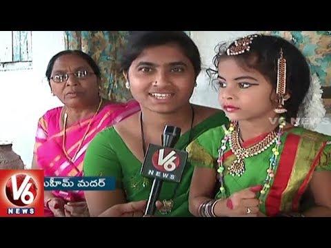 5 Year-old Khammam Girl Selected For Goa International Dance Festival | V6 News