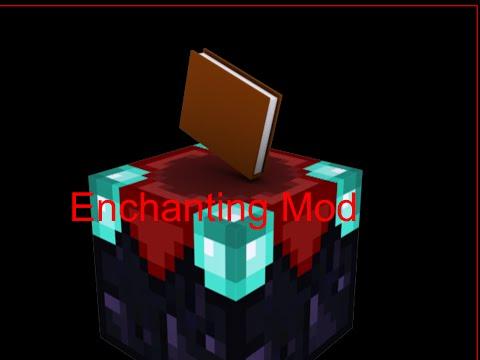 MCPE Enchantment Mod