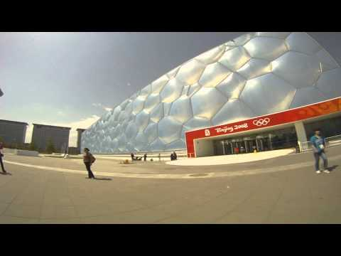 Visit to the Bird's Nest and Water Cube in Beijing, China