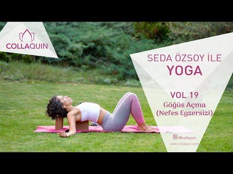 Seda Özsoy İle Yoga | Vol 19 | Göğüs Açma (Nefes Egzersizi)