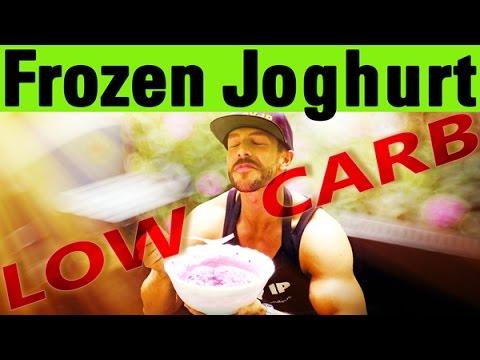 frozen joghurt low carb rezept youtube. Black Bedroom Furniture Sets. Home Design Ideas