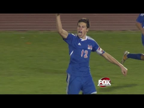 Incredible Goal Gives Mount St. Charles D-II Soccer Crown over Moses Brown in Overtime