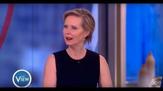 Cynthia Nixon On Advocating For Public Education, Acting In 50s & More | The View