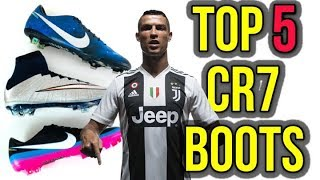 TOP 5 BEST CR7 NIKE MERCURIALS OF ALL-TIME!