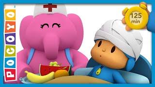 🤕 POCOYO AND NINA - Pocoyo is sick [120 min] | ANIMATED CARTOON for Children | FULL episodes