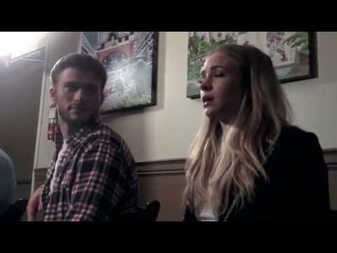 The Longest Ride Cast Interview with Scott Eastwood, Britt Robertson, & Nicholas Sparks