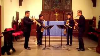 They Might Be Gods – John Leszczynski – Meraki Saxophone Quartet