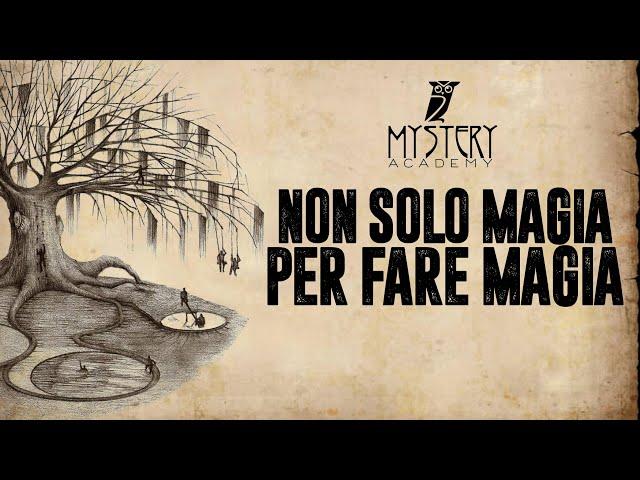 NON SOLO MAGIA ... PER FARE MAGIA!