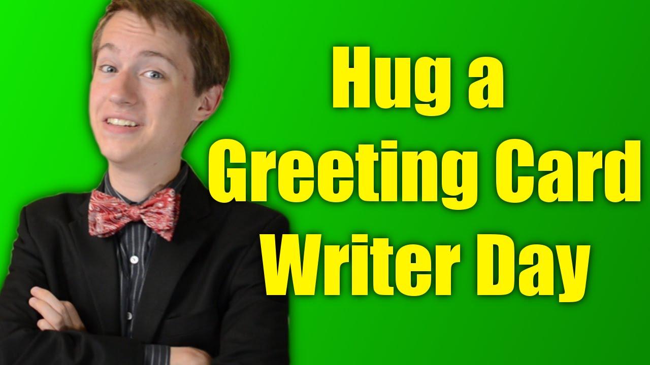 Hug a greeting card writer fantastic fridays youtube hug a greeting card writer fantastic fridays m4hsunfo