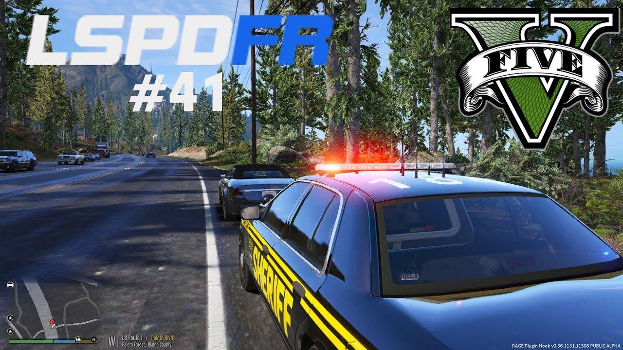 GTA 5 Polis Modu #41 - FPS'ten Oynamak
