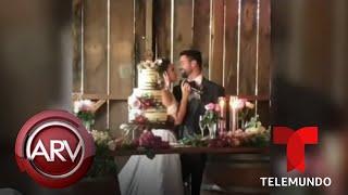 Isabella Castillo y Matías Novoa se juran amor eterno en boda religiosa | Al Rojo Vivo | Telemundo