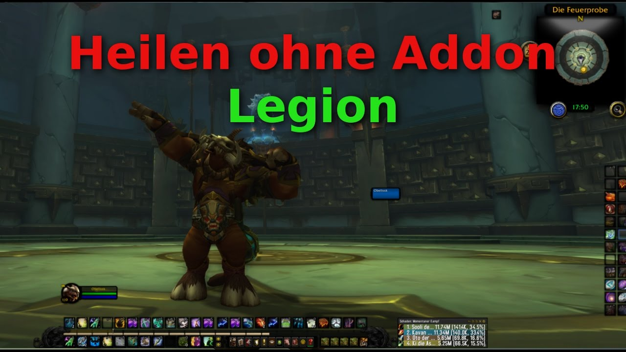 Guide ▻ heilen ohne Addon in WOW Legion - YouTube