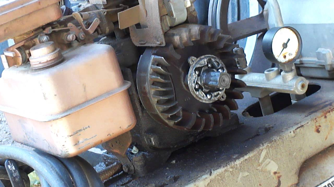 Briggs and Stratton 3HP Engine Starter Clutch Repair