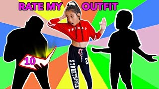 "STRICT Boys RATE My ""TEENAGE"" Outfits **BAD IDEA** 