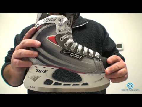 Nike Bauer Vapor XXV Skate review - YouTube