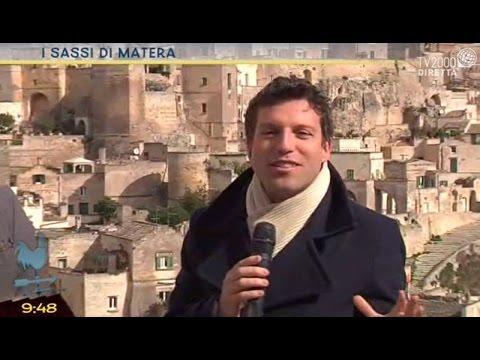 Fabio Bolzetta visita i Sassi di Matera