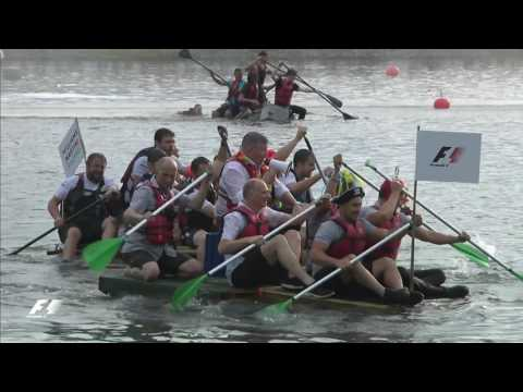 2017 Canadian Grand Prix: The Raft Race!